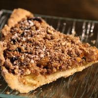 Part tarte mirabelle crumble noisette